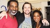 Jim Carrey at Porgy and Bess – Jim Carrey – Audra McDonald – Norm Lewis