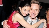 Spencer Kayden comes in close for a photo with her onstage tango partner, Ben Daniels.