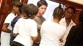 How to Succeed – Nick Jonas School Visit – Nick Jonas – students