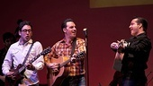 Million Dollar Quartet - Austin preview - Dan Mills - Steve Benoit - Robert Shaw