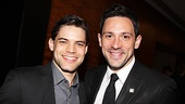2012 Tony Brunch – Jeremy Jordan – Steve Kazee