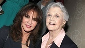 Co-host Stockard Channing catches up with The Best Man star (and Drama League Award nominee) Angela Lansbury.