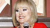It's a proud day for Tracie Bennett, who is the recipient of the award for Outstanding Actress in a Play for her powerhouse performance in End of the Rainbow.