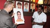 Norm Lewis portrait at Sardi's – Max Klimavicius – Norm Lewis