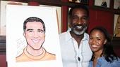 Norm Lewis portrait at Sardi's – Nikki Renee Daniels – Norm Lewis
