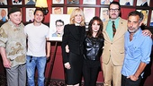 Jon Robin Baitz celebrates the honor with Other Desert Cities stars Stacy Keach, Thomas Sadoski, Judith Light, Stockard Channing and director and friend Joe Mantello.