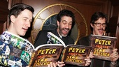Peter and the Starcatcher Book Party – Carson Elrod – Kevin Del Aguila – Rick Holmes