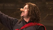Peter Bradbury, Douglas Hodge as Cyrano and Andy Grotelueschen in Cyrano de Bergerac.
