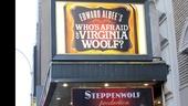 Who's Afraid of Virginia Woolf – Opening Night – marquee