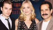 Golden Boy's golden trio Seth Numrich, Yvonne Strahovski and Tony Shalhoub are eager to re-introduce Broadway to this classic drama. Numrich plays the title character, Strahovski plays his love interest and Shalhoub plays his dad.