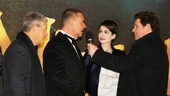 Les Miserables London premiere – Cameron Mackintosh – Russell Crowe – Anne Hathaway – Michael Ball