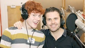'The Mystery of Edwin Drood' Cast Recording Session — Nicholas Barasch — Robert Creighton