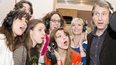 'The Mystery of Edwin Drood' Cast Recording Session — Stephanie J. Block — Jessie Mueller — Gregg Edelman