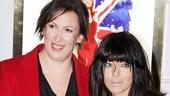 Viva Forever opening night – Miranda Hart – Claudia Winkleman