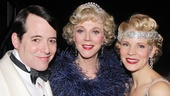It's a gorgeous three-shot of Matthew Broderick, Blythe Danner and Kelli O'Hara.