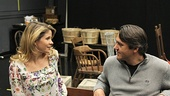 Carousel Rehearsal – Kelli O'Hara – Nathan Gunn