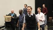 Carousel Rehearsal – ensemble dancing