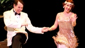S'Wonderful! Nice Work star Matthew Broderick and his new co-star Jessie Mueller kick up their heels during curtain call.