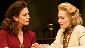 Jessica Hecht as Julie and Judith Light as Faye in The Assembled Parties.