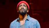 Bryan Terrell Clark as Marvin Gaye in Motown: The Musical.