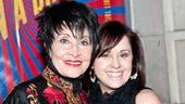 Rascals Opening Night – Chita Rivera – Lisa Mordente