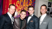 Rascals Opening Night – Christian Hoff – Michael Longoria – Daniel Reichard – J. Robert Spencer