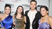 'Here Lies Love' Opening — Maria-Christina Oliveras — Natalie Cortez — Conrad Ricamora — Melody Butiu