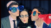 2013 BACA Photo Booth – Stark Sands – Laura Osnes – Santino Fontana