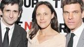 Bunty Berman Presents – Opening Night – Jonathan Marc Sherman - Stephanie Janssen – Aaron Krohn