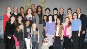 Matthew Morrison at Annie – group shot