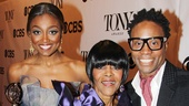 Patina Miller, Cicely Tyson and Billy Porter shine as they celebrate their momentous victories in the night's top acting categories.