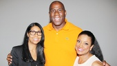 Magic Johnson at Motown — Cookie Johnson — Magic Johnson — Marva Hicks