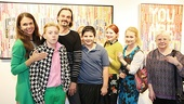 Sutton Foster Art Gallery Opening – Sutton Foster – Julien Havard – family
