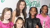 Big Fish – Opening Night – Zoe Margaret Colletti – Nicolette Pierini – Amanda Troya - Quvenzhane Wallis – Eden Duncan Smith