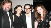 Fun Home Opening Night – Oskar Eustis – Amy Herzog – Sam Gold – Kyle