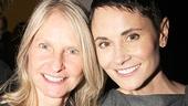 Fun Home Opening Night – Beth Malone – partner Rochelle