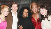 Diana Ross at Kinky Boots – Annaleigh Ashford – Stark Sands – Diana Ross – Billy Porter – Lena Hall