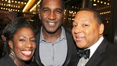 After Midnight opening night – Virginia Ann Woodruff – Norm Lewis – Wynton Marsalis