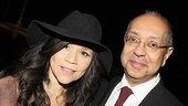 After Midnight opening night – Rosie Perez – George C. Wolfe