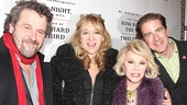 Richard III and Twelfth Night opening – Dominic Dromgoole – Sonia Friedman – Joan Rivers – Neil Constable