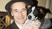 Party time! We must begin our coverage with Mark Rylance and his dog, Apache, who stole the show when his master brought him on stage during curtain call.