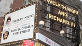 Richard III and Twelfth Night opening – marquee