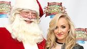 Radio City Christmas Spectacular 2013 opening – Santa – Nastia Liukin