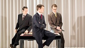 <I>American Psycho</I>: Show Photos - Charlie Anson - Matt Smith - Hugh Skinner -  Jonathan Bailey