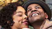 Denzel Washington as Walter Younger & Sophie Okonedo as Ruth Younger in A Raisin in the Sun