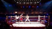 Terence Archie as Apollo Creed & Andy Karl as Rocky Balboa in Rocky