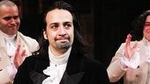 Hamilton – opening night – 2/15 – OP – Lin-Manuel Miranda