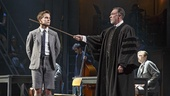Austin McKenzie as Melchior and Patrick Page as Adult Male in Spring Awakening