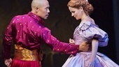 Hoon Lee as the King of Siam and Kelli O'Hara as Anna in The King and I