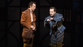 Josh Grisetti as Nigel Bottom and Rob McClure as Nick Bottom in Something Rotten!